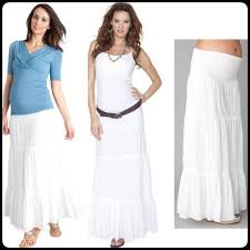 maternity skirts 56 motherhood maternity dresses skirts boho white maxi