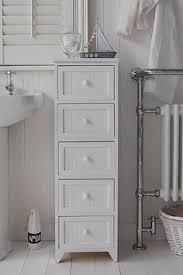 free standing bathroom storage ideas portland white narrow storage bathroom cabinet a four drawer free