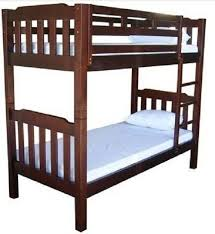 Bunk Bed Adelaide Bunk Bed Walnut King Single