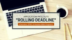 application deadline texas mba insider