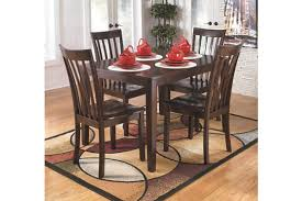 Dining Room Tables Set Hyland Dining Room Table And Chairs Set Of 5 Ashley Furniture