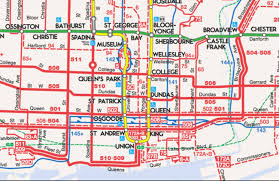Subway Map Queens by Is The New Ttc System Map Easier To Read