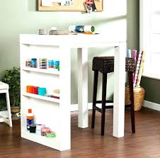 south shore artwork craft table with storage pure white craft desk with storage counter height craft desk craft desk with