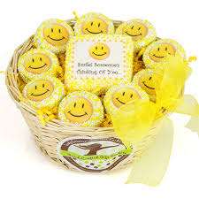 where can i buy white chocolate covered oreos any occasion oreo smiley basket smiley oreo and chocolate