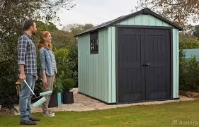 Backyard Storage Ideas Decorating Oakland Premium 7x7 Keter Shed With Vertical Siding