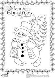fun coloring pages to print christmas pinterest snowman