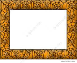 halloween border picture of halloween spider web border