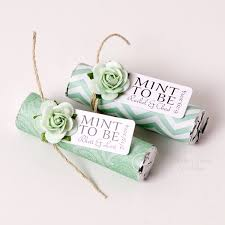 mint to be wedding favors mint to be wedding favors wrapped mint roll personalized mints