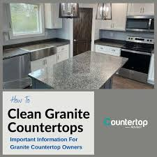 can you use to clean countertops how to clean granite countertops kitchen countertops