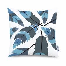 light blue pillow cases animal feather cushion cover light blue pillow case sofa decorative