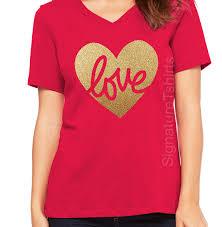 valentines day shirt valentines day shirt womens v neck tshirt heart shirt