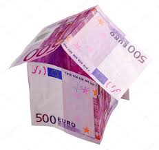 Euro House Money House Made From 500 Euro Banknotes U2014 Stock Photo Philipus
