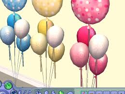 baby shower balloons mod the sims baby shower balloons