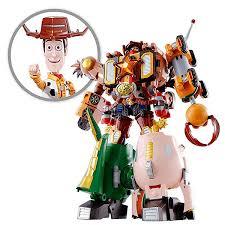 toy story bandai chogokin combination woody robo sheriff star