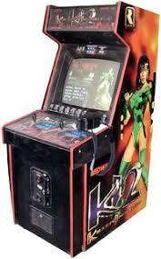 killer instinct arcade cabinet killer instinct 2 videogame by midway games