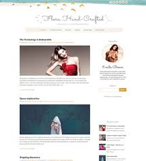 one page blogger templates free download