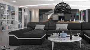 couch u form moderne wohnlandschaft barari u form sofa design couch relaxsofa