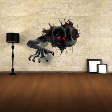 3d wall stickers devil style wall decals home appliances decor
