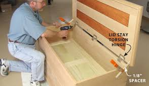 Build A Toy Box With Lid by Aw Extra Shaker Blanket Chest Popular Woodworking Magazine