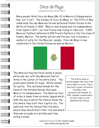 cinco de mayo worksheet for kids free teacher stuff squarehead