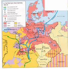 Map Of Europe 1648 by Map Germany