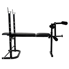 Weight Bench With Barbell Set Multi Purpose Training Bench Barbell And Dumbbell Weight Set