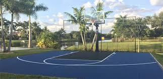 backyard basketball court flooring florida home basketball court gym floors sport court south florida