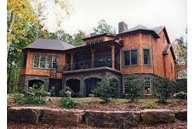 hillside home plans home plan homepw16733 4304 square foot 4 bedroom 3 bathroom