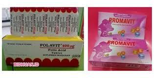 Obat Folac suplemen ibu promavit vs folavit mana yang lebih baik