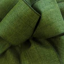 moss ribbon wired moss green linen burlap ribbon wired edged ribbon