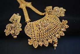 necklace set image images Traditional rajwadi imitation design long necklace set jpg