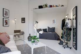 Project Swedish Apartment  Single Room Apartment With An - Small space apartment design