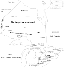 Ontario Canada Map Stereotype Map Ontario Canada 972x1024 Oc Mapporn