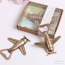 bottle opener favors let the adventure begin airplane bottle opener favors china