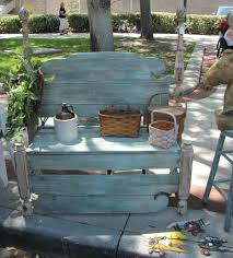 Shabby Chic Patio Furniture by 22 Best Shabby Chic Benches Images On Pinterest Home Cottage
