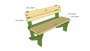 Plans For Building A Wooden Bench by Outdoor Wooden Bench Plans To Build Bench Decoration