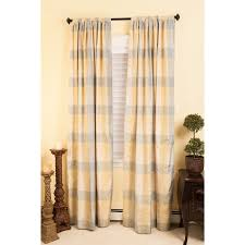 curtain jpg buffalo check curtains for the office plaid panels
