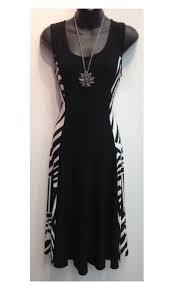 gitane ready to wear fashion dress printed panel on the sides