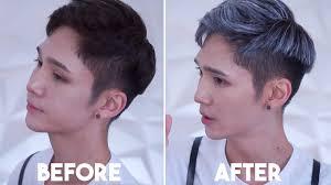 salt and pepper hair colour instant gray hair no bleach no hair dye youtube
