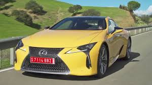 lexus lc spied first look 2018 lexus lc 500 youtube