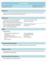 Computer Science Internship Resume Sample by Sensational Ideas Resume Student 12 Internship Resume Samples