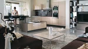 decoration salon cuisine deco cuisine ouverte sur salon idee newsindo co