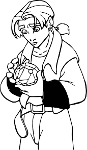 treasure planet jim important coloring pages wecoloringpage