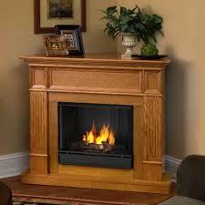 light oak electric fireplace real flame camden ventless gel fuel corner fireplace finish light