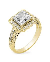 princess cut gold engagement rings moissanite princess cut halo yellow gold ring my faux