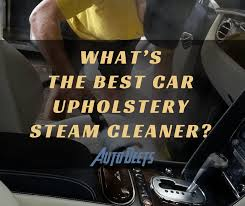 Steam Cleaner Upholstery What U0027s The Best Car Upholstery Steam Cleaner Auto Deets