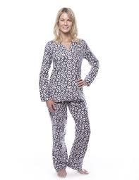 womens 100 cotton flannel pajama sleepwear set noble mount