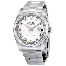 rolex oyster bracelet stainless steel images Rolex datejust 36 white dial stainless steel oyster bracelet jpg