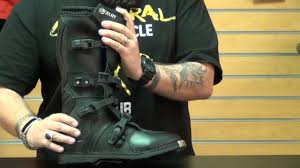 sixsixone motocross boots ocelot sx3 boots review youtube