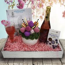 engagement gift basket engagement gift baskets yorkville s canada